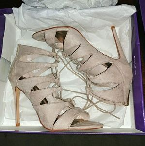 Madden girl lace up heels